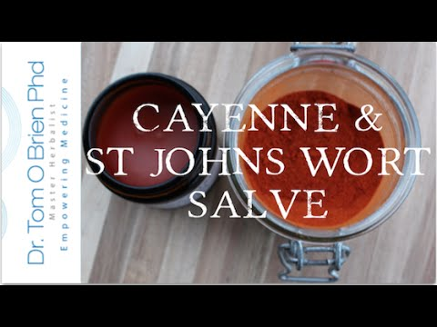 Joint & Muscle Pain Cayenne Salve - Herbal Remedies