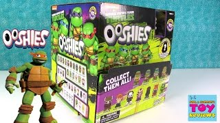 TMNT Ooshies Pencil Toppers Squishy Figures Teenage Mutant Ninja Turtles Opening | PSToyReviews