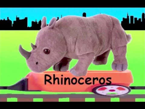 Learn Wild Animal Train (new)  Learning Zoo Animals Video For Kids  Youtube