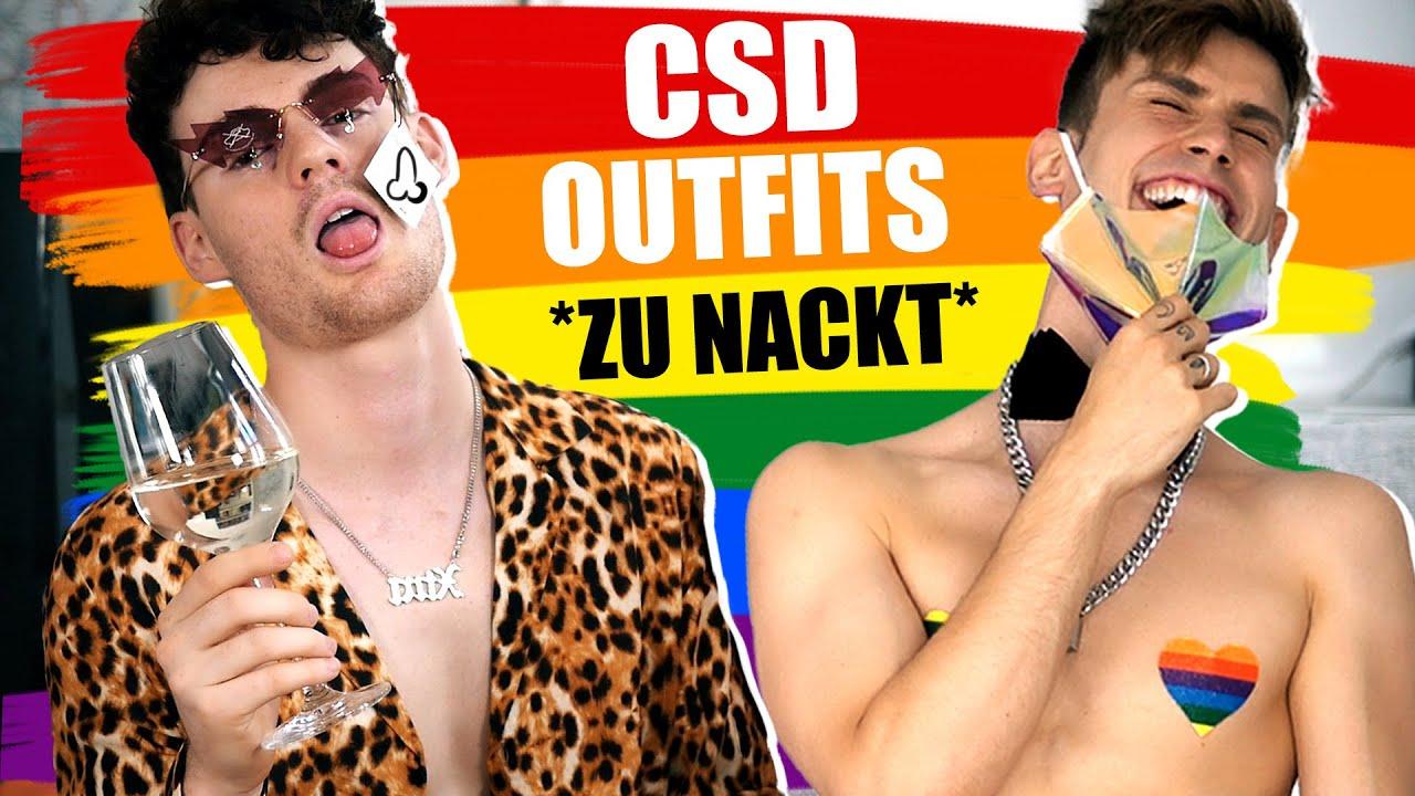Wir testen lustige CSD Outfits 2020... und es ESKALIERT 😂 | Kostas x Nico
