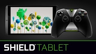 NVIDIA SHIELD tablet now with Android 5.0 Lollipop and more