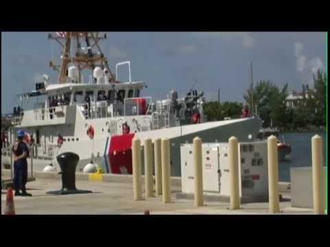Coast Guard Cutter Paul Clark Arrives at Home Port for First Time!
