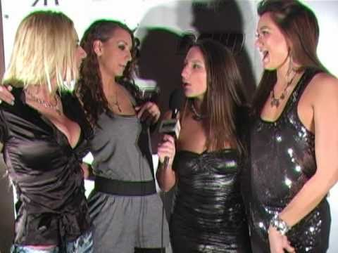 Katie Jordan, Riley Evans, Cece Stone, and Lizz Tayler on the Red Carpet
