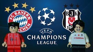 Bayern Münih Beşiktaş Maç Özeti 5-0 20.02.2018  (LEGO ŞAMPİYONLAR LİGİ MAÇ ÖZETLERİ)/ Lego Football
