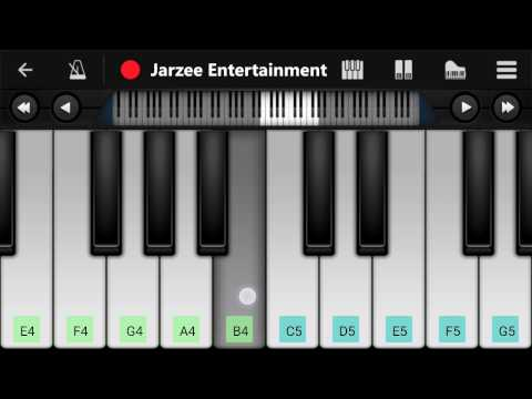 Roke Na Ruke Naina (Badrinath Ki Dulhania) - Mobile Perfect Piano Tutorial