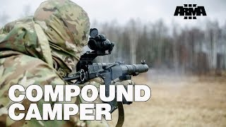 ARMA 3 RHS KOTH: Compound Camper - a kill streak story