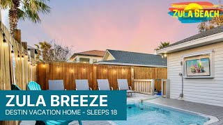 Destin Florida Vacation Rental - Zula Breeze