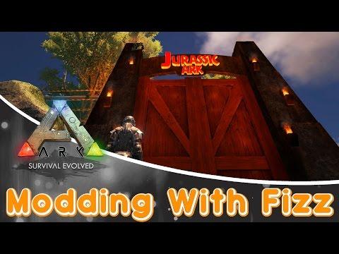 ARK: Survival Evolved MOD | Jurassic Ark Mod!!!