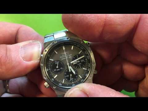 IL Seiko 7A38-7020 octagon bezel model, famly watch, nice