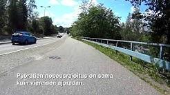 Huomioita liikenteestä 871 - Pyörätien nopeusrajoitus