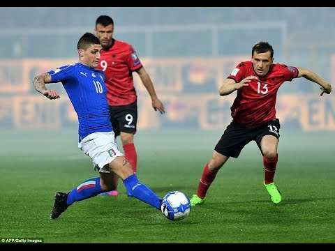 Italy - Albania 2-0 Goals and Highlights 03/24/2017