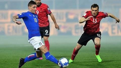 Albanien Vs Italien