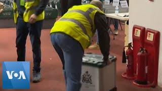 Vote Count Begins in London, as Boris Johnson Set for Big Win