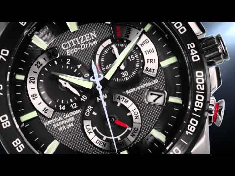Discover the CITIZEN Eco-Drive Perpetual Chrono (AT4008-51E) Timekeeping