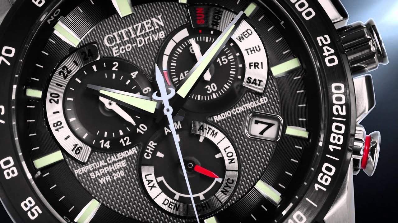 citizen perpetual watch manual