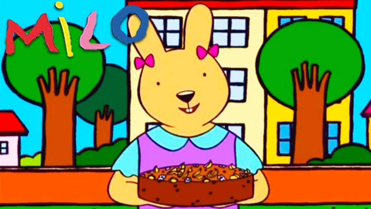 Milo Le Gateau De Judith Les œufs En Chocolat Et La Porte
