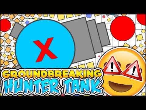 BRAND NEW GROUNDBREAKING TANK UPDATE! DIEP.IO NEW HUNTER X TANK (DIEP.IO / DIEPIO #21)