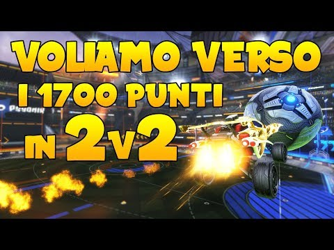 VOLIAMO VERSO I 1700 PUNTI IN 2V2! | Rocket League ITA | 2v2 | Grand Champion thumbnail