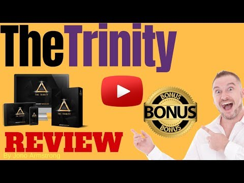 The Trinity Review ⚠️WARNING⚠️ DON'T GET THE TRINITY WITHOUT MY 👷CUSTOM👷 BONUSES! [trinity Review]