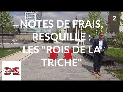 Complément d'enquête. Notes de frais, resquille : les 'rois de la triche' - 18 avril 2019 (France 2)