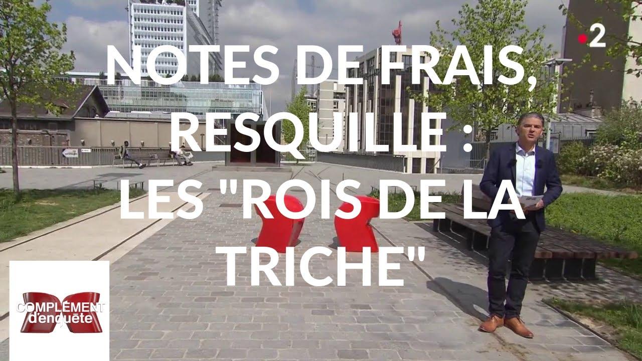 """Complément d'enquête. Notes de frais, resquille : les """"rois de la triche"""" - 18 avril"""
