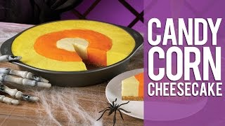 How To Make A Candy Corn Cheesecake