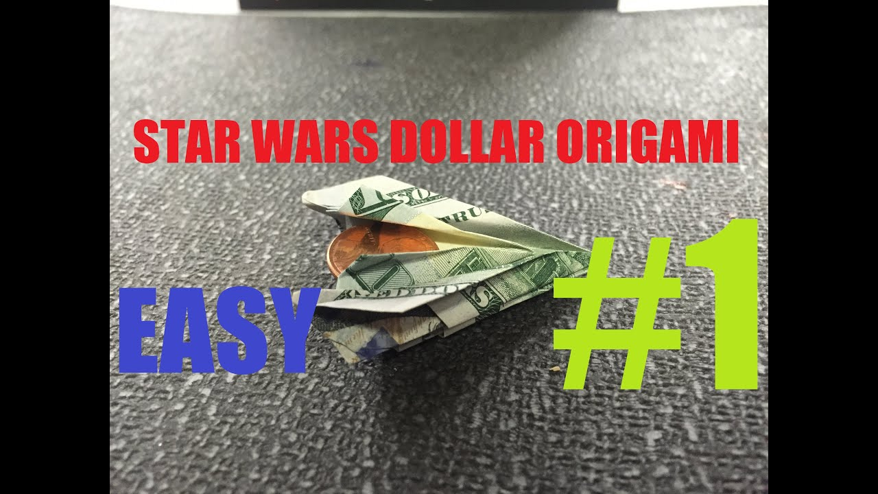 How To Make A Stealth Bomber Origami Dollar Star Wars ... - photo#24