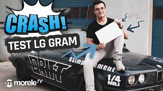 CRASH TEST LG Gram  Czy laptop przeżyje?