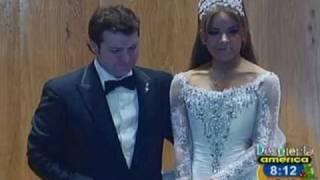 La fastuosa boda de Gloria Trevi