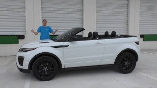 Поверить не могу, что Range Rover Evoque кабриолет стоит $70 000