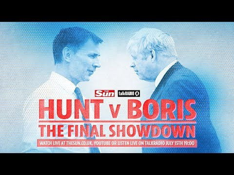 Hunt v Boris: The Final Showdown debate