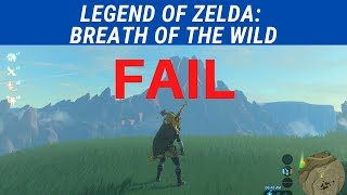 BREATH OF THE WILD FAIL | Korok Seeds + Lake Hylia | Zoe Stoller