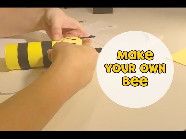 Make your own bee! | Make it Yourself (s01e4)