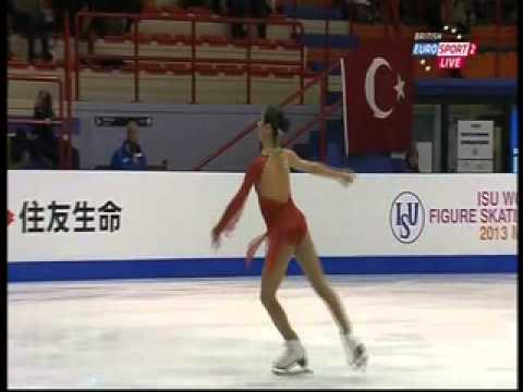 Yasmin Siraj - 2013 World Junior Championships - LP
