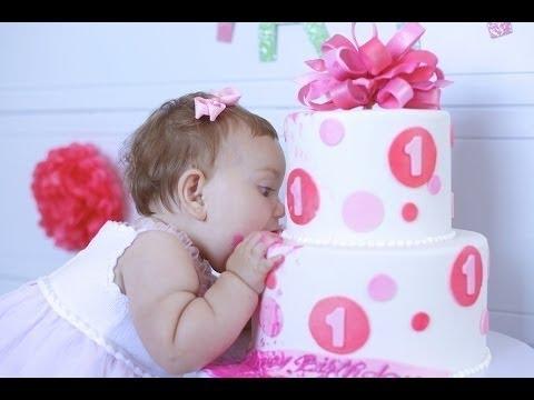 Rire Meilleurs Bébés Premier Gâteau Compilation Bébés Drôles Premier Gâteau Joyeux Anniversaire