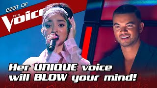 16-Year-Old SURPRISES everyone with her UNIQUE sound in The Voice