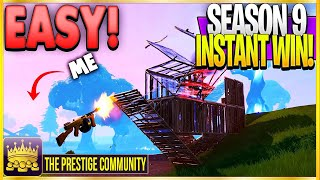 WIN EVERY Fortnite Season 9 Public Match With This NEW INVISIBLE GLITCH (Fortnite Season 9 Glitches)