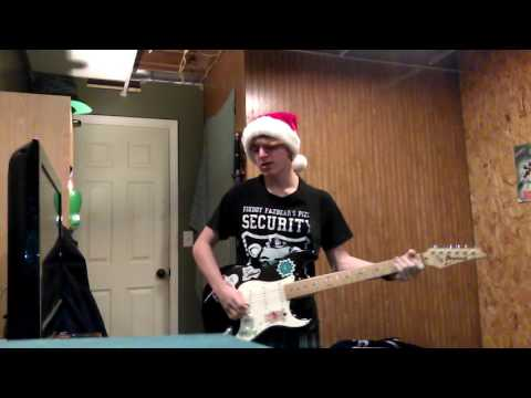 All time low/ Merry Christmas kiss my a** metal cover
