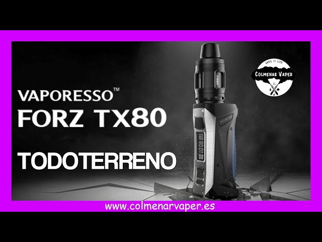 VAPORESSO FORZ TX80 KIT 💨💨💨  REVISION  2021