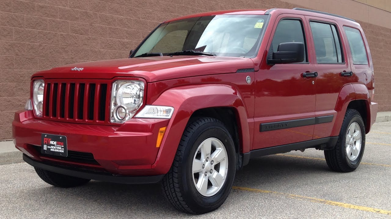 2010 Jeep Liberty Sport 4WD From Ride Time In Winnipeg, MB