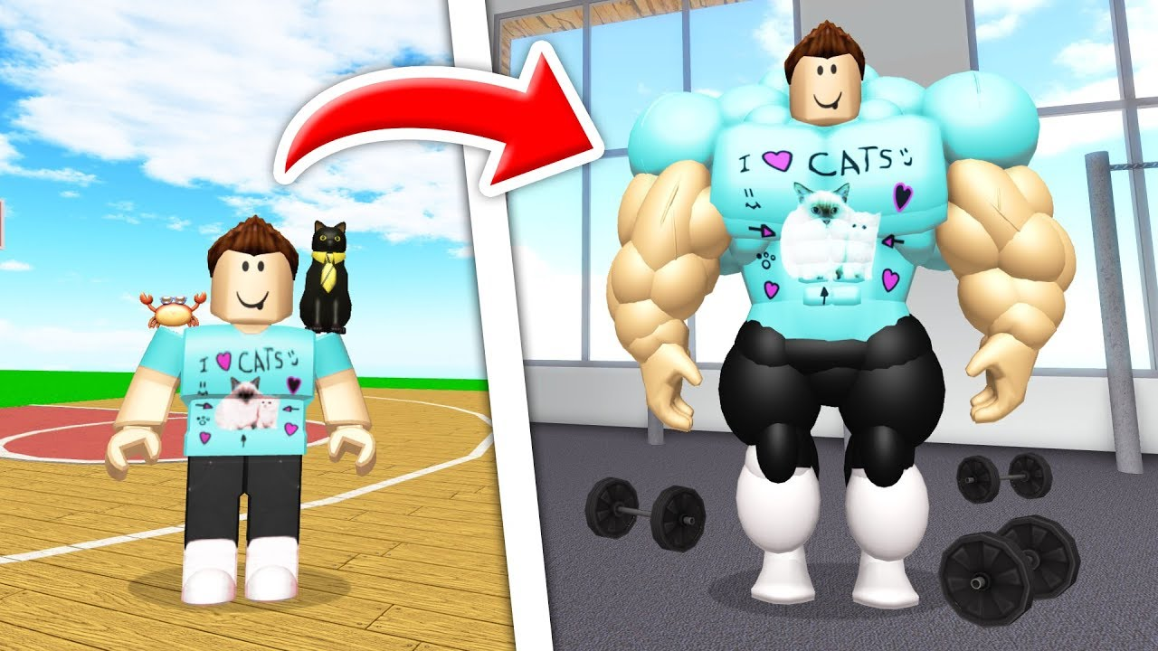 becoming-the-buffest-roblox-player-ever