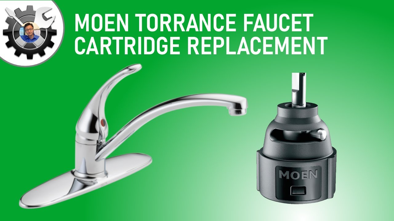 How To Replace Moen Kitchen Faucet Cartridge Youtube