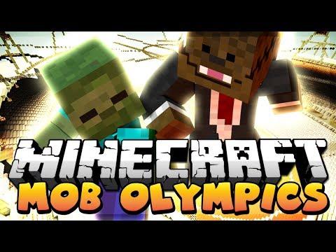 Minecraft: Zeke the ZOOOOMBIE Race (Zombie Olympics)