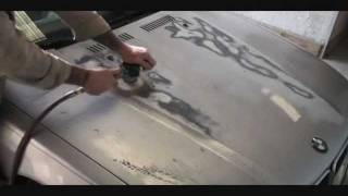 How To Repair Faded Peeling Paint On Your Car or Truck-Automotive Paint and Body Tech Tips-Part 1