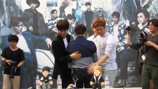 06 18 2014 Siwan  Kwanghee  amp  Junyoung At Lotte ZE A Pop-up Store    Zea Junyoung Breathe