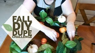 FALL DIY DUPE CHALLENGE - (HOSTED BY KENYA'S DECOR CORNER & ECLECTIC KRISTEN)