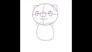 How to draw Oshawott using Paint (Pokemon)