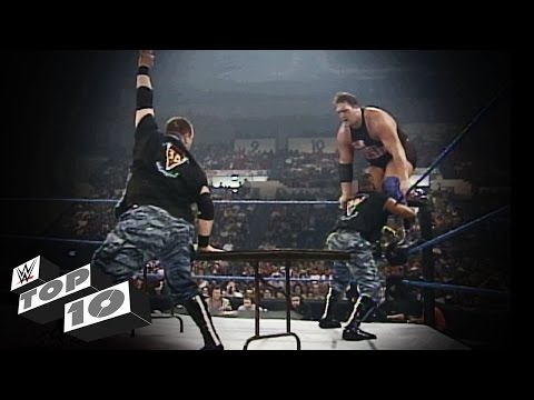 The Dudley Boyz' Table Rampages: WWE Top 10