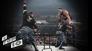 Download The Dudley Boyz' Table Rampages: WWE Top 10 Mp3 and Videos
