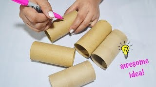 How To Reuse Empty Tissue Roll| Best Reuse Idea With Tissue Roll